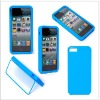 Hot selling good quality double detachable TPU case for iphone 5 cover
