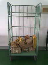 JS Supermarket storage cart, Trolley, Universal castor and fixed castor