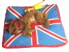 Soft UK Flag Dog products Pet Bed