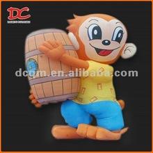 Lovely Hip-hop Monkey Fixed Advertising Inflatable Cartoon