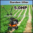 Petrol Rototiller Garden Mini Tiller Cultivator Rotavator 5.5HP
