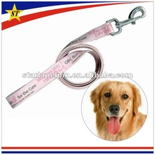 china cute pink cheap promotional custom dog leashes with lock