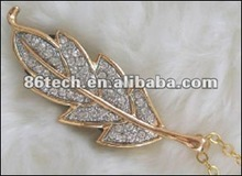 OEM new style jewelry diamond usb flash drive 2.0