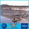 Hdpe Geo membrane ferme poissons, 1.0 MM d'épaisseur, Terrassement matériel pour route, Tissu, Haute résistance