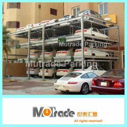 2 3 4 Floors Auto Run Parking Equipment