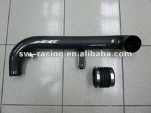 Auto Carbon Fiber Air Intake Pipe for VW Golf MK6