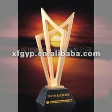 golden zinc alloy metal trophy cup, Set sail on a long voyage