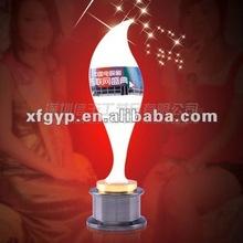 customization TV award metal trophy cup, Sohu entertainment festival
