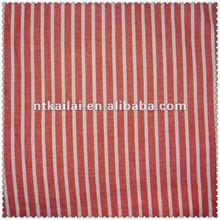 60 red white striped fabric (KLKC016)