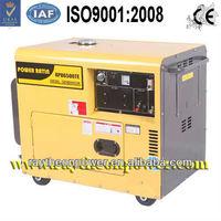 Home used silent auto start diesel power generators 5kva