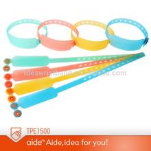 Personlized plastic TPE bracelet