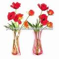 Plástico pvc vaso de flor, vaso de flores