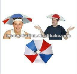 ร่มธงชาติหมวกขนาดเล็ก
