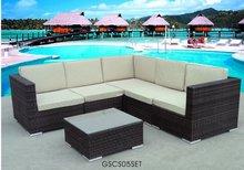 Outdoor Wicker Patio Furniture Sofa Seat