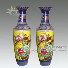 1.4meter high Chinese Antique Ceramic Large Floor Vases