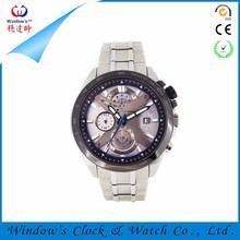 Fashion quartz stainless steel own brand watch