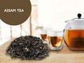 Puro ceilão chá preto