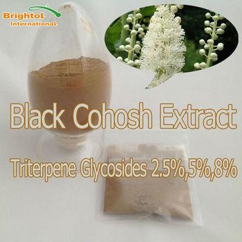 High Quality Black Cohosh P.E. 2.5~5% Triterpene glycosides