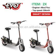 2015 newest 71cc china scooter(EVO-2X-T)