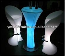 LED bar stool/led furniture set