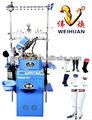 Automático de un solo cilindro de los deportes profesionales calcetín de la máquina de tejer ( 4.5 pulgadas )