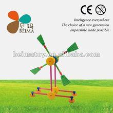 dutch windmill kids plastic building blocks toys