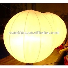 2012 Newest design inflatable party decoration balloon with LED lights