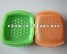 square silicone micorwave steamer for cooking