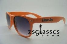 2012wholesale colorful lens custom wayfarer sunglasses/can OEM/promotional sunglasses orange