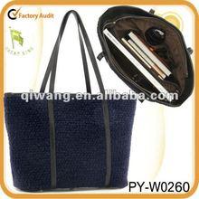 fashion winter handbags for women imitation wool bag