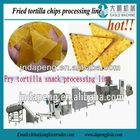 Factory fried cassava chips/potato chips/wheat flour doritos chips corn chips making machine