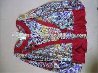 CC002 Fashion Children blouse baju and long skirt ABAYA for islam girls