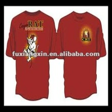 2013 new design pure blank cotton t-shirts printing