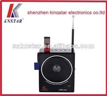 2012 best selling gift USB/SD card FM radio