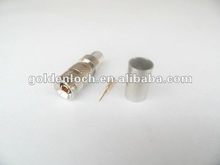 75 ohm RF Push Pull Crimp Male Plug for ST-214 Cable 1.0 2.3 Connector