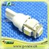 Newest type T10 5smd led car smd bulb/car led smd bulb light