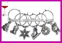 promotional wine charms