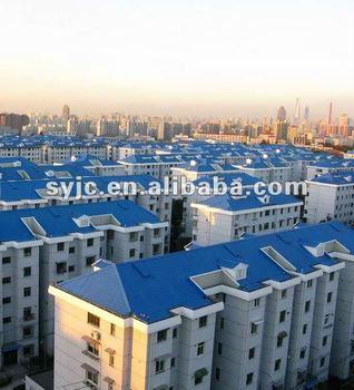blue spanish roofing tile