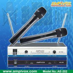 Very Hot Sell Cheap VHF Wireless Microphone AE-202