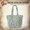 2014 Floral Canvas Tote Bags/Handbags