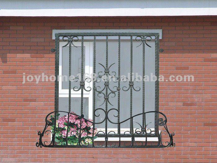 المطاوع نافذة منزل الحديد شواء التصميم