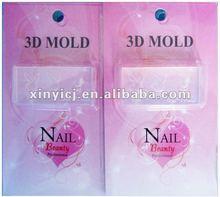acrylic nails art 3D mold