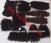 Natural Color Body Wave Machine Made Weaving Mongolian Virgin Hair extention