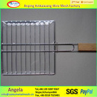 Stainless Steel barbecue grill basket manufactured in China