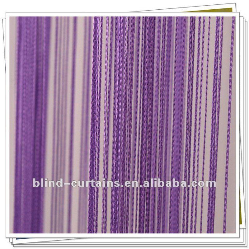 2015 latest design decoration string curtain