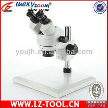 3.5X-90X large flat stand binocular microscope+ 56LED