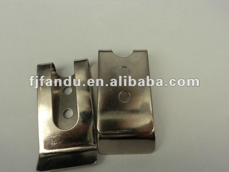 Metal wallet money clips