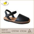 miúdos projeto popular e de alta qualidade de couro de lazer sandálias sapatos