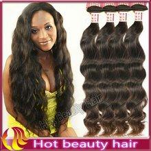 Hot Beauty AAAA Grade Unprocessed Machine Made Guangzhou Hair Extension Factory