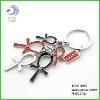 Metal zinc alloy egypt promotion cross keychain souvenir keychain (KCEG-0061)
